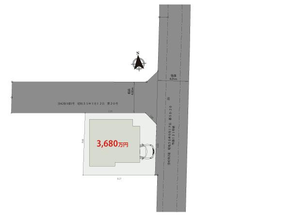 【区画図】小金井市前原町Ⅱ期【全1棟】